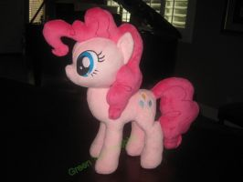 Pinkie Pie Plush commission by GreenTeaCreations