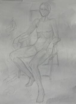 Figure Drawing 2 by Axnara-the-insane