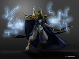 Protoss High Templar by sanggene