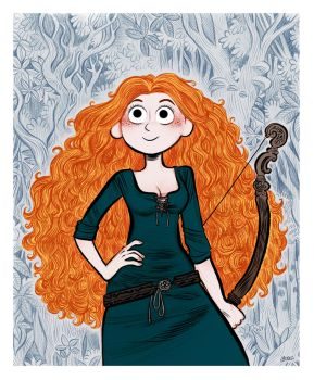 Merida (Brave). by bloglaurel