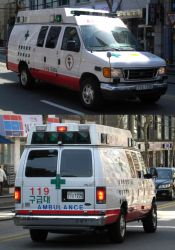 Ford Econoline E300 Series Korean Ambulance by toyonda