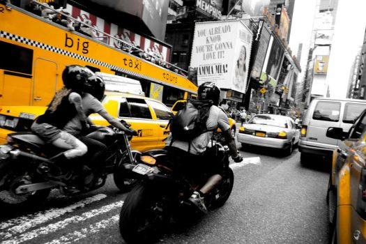 Fast in NYC by mustafakhayat