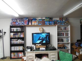 My geek wall by Nuwame