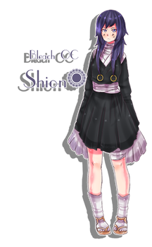 Bleach OC - Shion Kagure. by Shio-nii