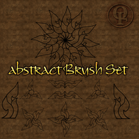 Abstract Brush Set for Photoshop by Spiral-0ut