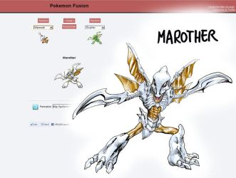 Pokemon fusion Marother by MatiasSoto