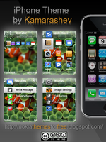 iPhone Theme for Nokia s60 fp2 by Kamarashev