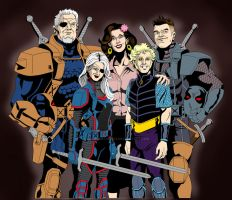 Slade Wilson Family Values
