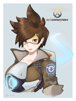Overwatch - Tracer by Tanza-Night