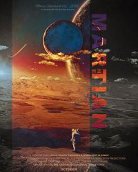 The Martian Poster by MariaSemelevich
