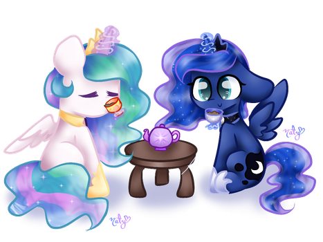 Sister Tea Time! by naty7913