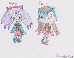 RQ: Elise Rose and Sonia Acorn by coreena12
