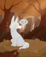 In The Woods [YCH] [CLOSED] by DeathbyUFO