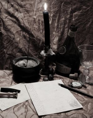 Writer's Block by Caillean-Photography