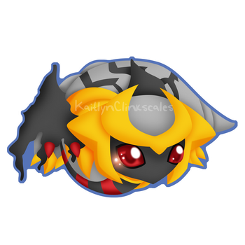 Giratina Altered Forme by Clinkorz