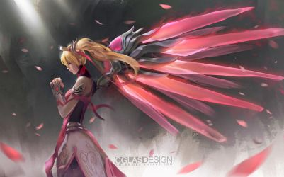 Pink mercy by CGlas