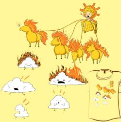 Woot Shirt - I Am Helios by fablefire