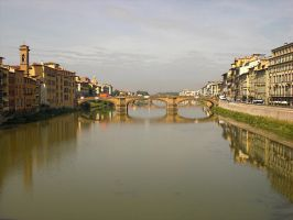 View From Ponte Vecchio by ErinM2000