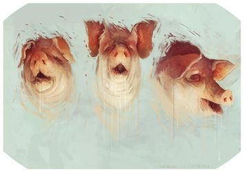 three little pigs by bradwright