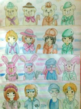 Bunny People by Amebunny