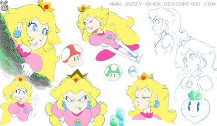 MTA: More Peachy Expressions by Jazzy-Book
