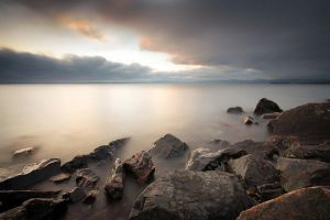 Superior's Rocky Shore by tfavretto