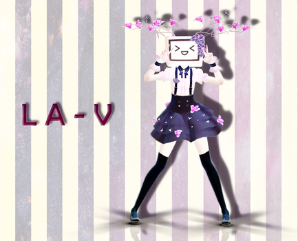 {MMD x OC} L A - V by Artsy-Cup