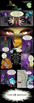 Siren and the Seamare (Prologue, Pg 2) by JeNnDyLyOn