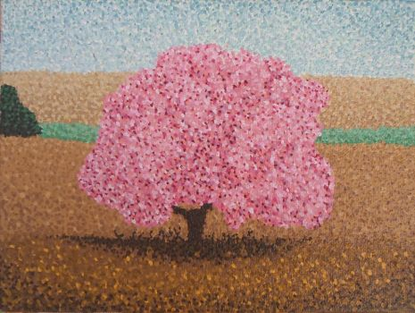 Pointilism Blossom by laupretep