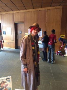 The Fourth Doctor Arrives by xenomorph2014