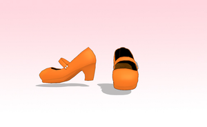 MMD Mary Janes with Heels by amiamy111