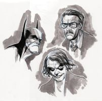 face sketches. by alanrobinson