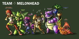PCBC 2 - TEAM MELONHEAD by Poj5