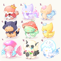 (Re-Opened No.5) Bird Mini Auction by Mewkyz