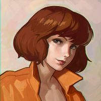April O'Neil by Kuvshinov-Ilya