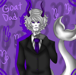 Goat Dad by Lolalilacs