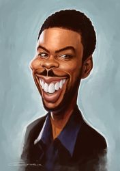 Chris Rock by NightshadeBerry