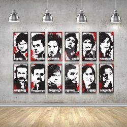 Romanzo Criminale Wall Print by riccardocurin