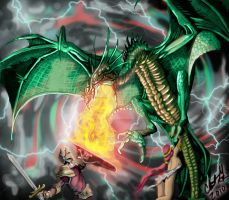 dragon's breath by AtL-eAsTwOoD