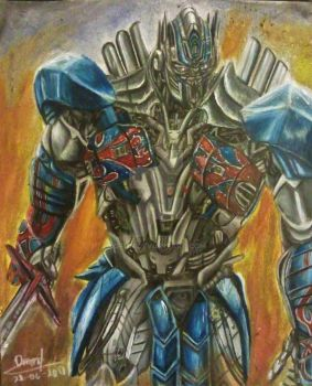 Optimus Prime The Last Knight by Ofon