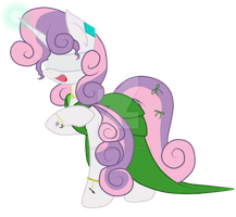 Sweetie Belle's recital by SPIDIvonMARDER