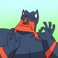 When it's lit just right... by Dynakirby63