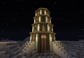 Watchtower of Elsewhere by MichaelGermany