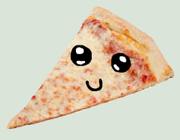 Kawaii Pizza by PrankStarz101