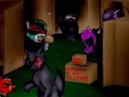 Box Party by Luna748Fire