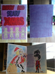 Merry and scary Xmas card by Kosa17