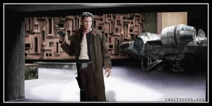 Older Han Solo by Rabittooth