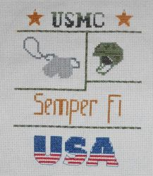 Marine Cross Stitch by FireWings26