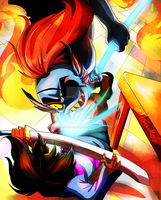 Imagine Your Icon: House Party at Undyne's by Executor-Haruko