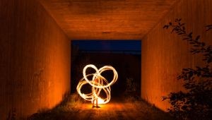 Underpass poi by AsthmaHowl